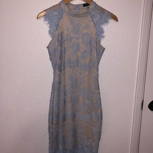 Windsor Blue Lace Dress